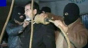 Saddam on the gallows 2006 G image search